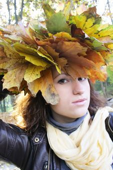 Free Girl Autumn Stock Images - 7008964