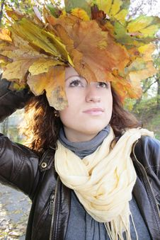 Free Girl Autumn Royalty Free Stock Photo - 7008985