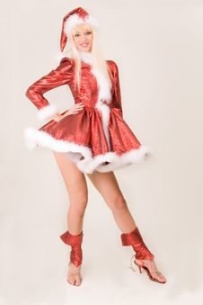 Free Attractive Mrs. Santa Claus Stock Photo - 7009060