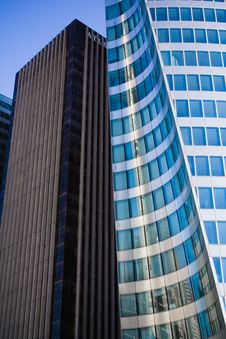 Free Office Buildings District Stock Photography - 7009412