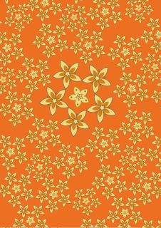 Free Funky Flowers Abstract Pattern Stock Photos - 7009443
