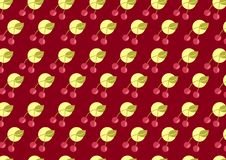 Free Cherry Pattern Royalty Free Stock Image - 7009476