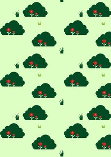 Free Flowers Pattern Stock Photography - 7009642