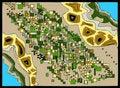 Free Birds-eye-view Map Stock Image - 7010991