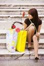 Free Waiting Woman Stock Photo - 7014040