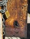 Free Rusted Keyhole Stock Photo - 7015250