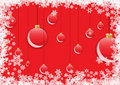 Free Red Christmas Balls Royalty Free Stock Image - 7015646