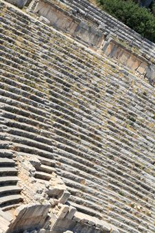 Free Ancient Amphitheatre Royalty Free Stock Images - 7010299