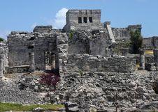 Free Tulum Temple Ruins Stock Image - 7010661