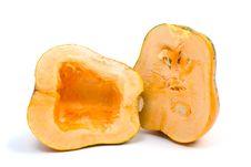 Free Pumpkin Cut On Half Stock Photography - 7011902
