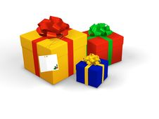 Free Present Boxes Royalty Free Stock Image - 7012476