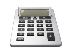 Free Business Calculator Stock Images - 7012834