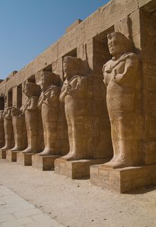 Free Karnak Temple Royalty Free Stock Photos - 7012868