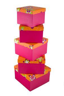 Free Gift Boxes 3 Stock Photo - 7013030