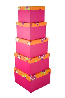 Free Gift Boxes 4 Stock Images - 7013034
