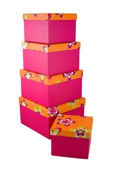 Free Gift Boxes 5 Royalty Free Stock Photos - 7013038