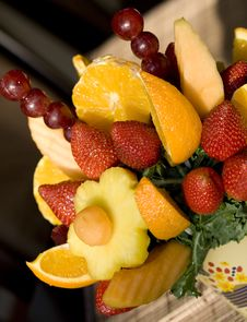 Free Tropical Fruit Arrangement Royalty Free Stock Image - 7013426