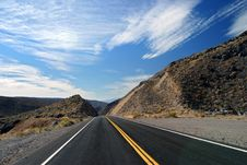 Free Road And Clouds Royalty Free Stock Image - 7013436