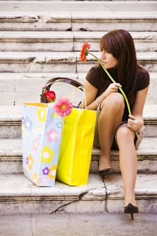 Free Waiting Woman Stock Photo - 7014040