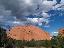 Free Garden Of The Gods Royalty Free Stock Photos - 7014378
