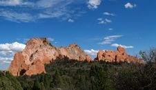 Free Garden Of The Gods Stock Images - 7014384