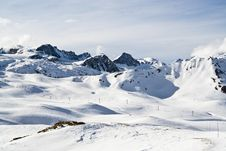 France. Ski Resort Val D Izere Stock Photography