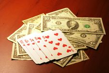 Free Player In Poker Royalty Free Stock Photo - 7014975
