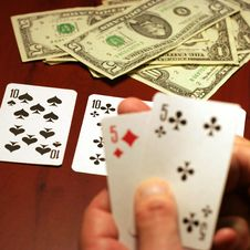 Free Player In Poker Royalty Free Stock Image - 7014986