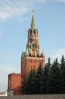 Free Kremlin Tower Royalty Free Stock Photos - 7015398