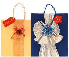 Free Gift Bags Royalty Free Stock Photography - 7015707
