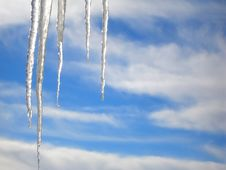 Free Icicles Royalty Free Stock Photos - 7015748