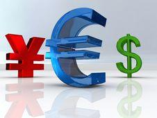 Free EURO Symbol Royalty Free Stock Photo - 7016465