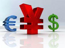 Free Yen Symbol Royalty Free Stock Images - 7016469
