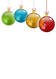 Free Xmas Globes Stock Images - 7016484