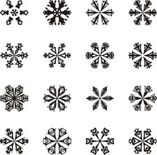 Free Snowflakes Stock Images - 7016734