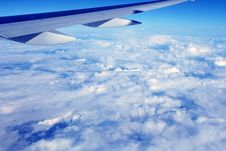 Free Over Skies Royalty Free Stock Photo - 7016755
