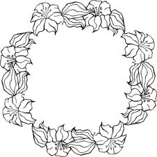 Free Floral Frame Series Stock Photography - 7017062