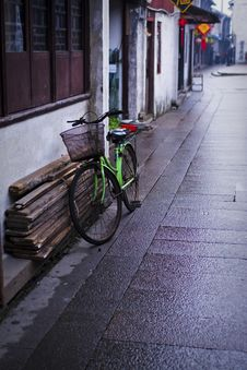 Zhouzhuang Ancient Town Royalty Free Stock Photo