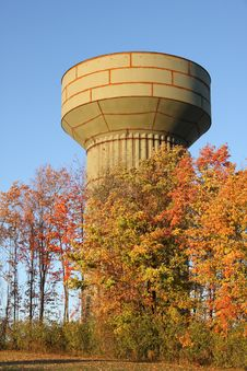 Free Water Tower Royalty Free Stock Images - 7017769