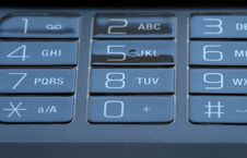 Free Mobile Phone Keypad Royalty Free Stock Photo - 7017865