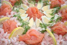 Close Up Of Sandwich Gateau Royalty Free Stock Photo