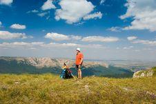 Free Happy Hiker Royalty Free Stock Photos - 7017898