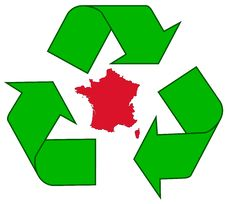 Recycling France Stock Photos