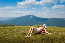 Free Happy Hiker Royalty Free Stock Image - 7018056