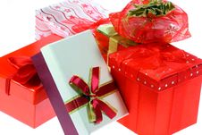Free Gift Boxes And Bags. Royalty Free Stock Image - 7018186