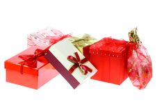 Free Gift Boxes And Bags. Royalty Free Stock Images - 7018509