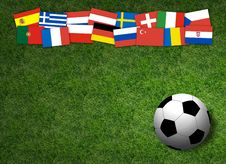 Free Football Background Royalty Free Stock Photography - 7018907