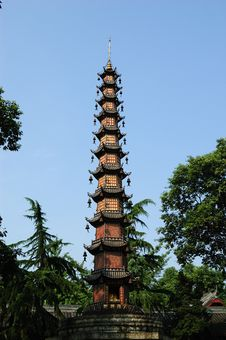 Free Pagoda Royalty Free Stock Images - 7018909