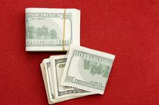 Free Stack Of $100 Bills Stock Photography - 7019042