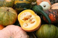 Free Pumpkins Royalty Free Stock Image - 7019366